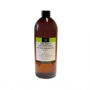 H2O Dispersible Nut Free Massage Oil