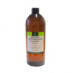 Water Soluble Massage Blend Oil